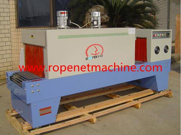 sealing and cutting shrinking machine