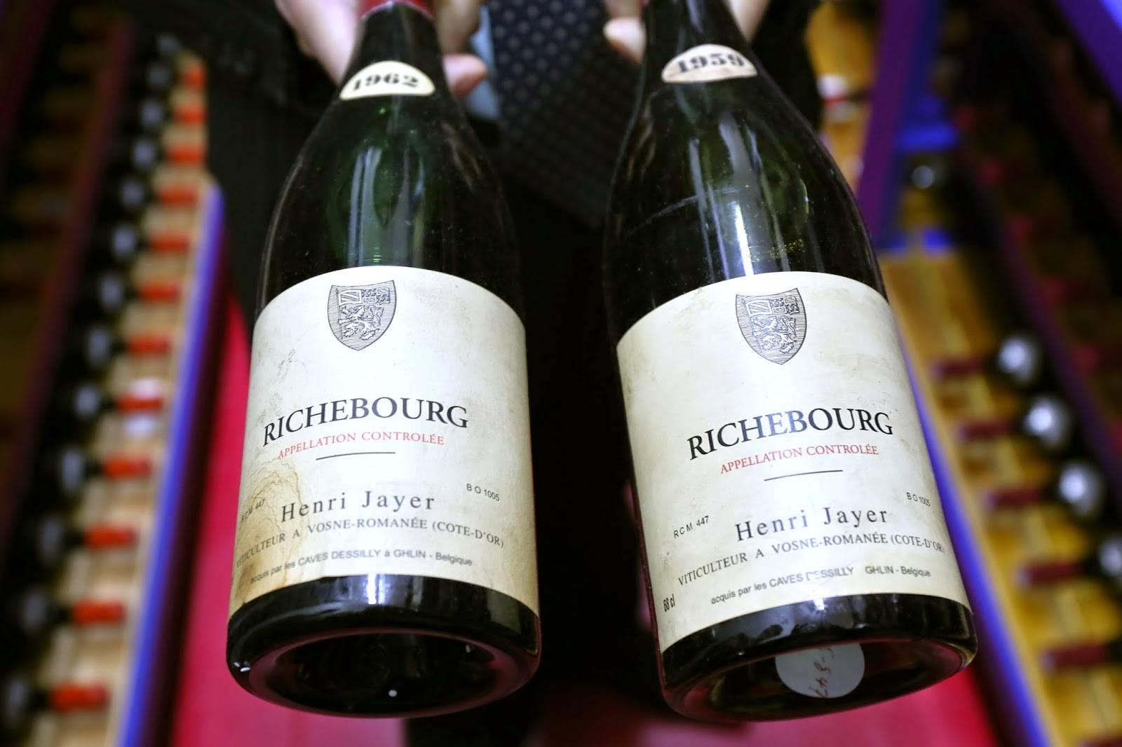 I have a Jayer Richebourg wine Henri