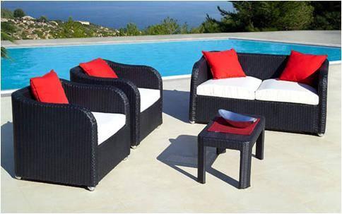Viet Style poly rattan sofa sets