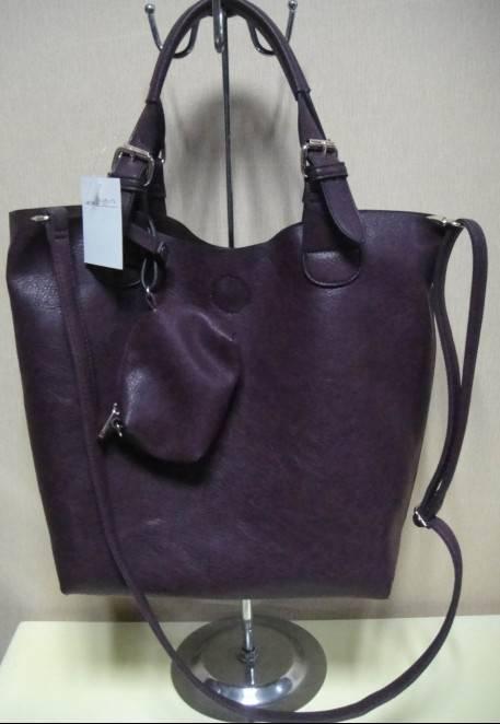 purple leisure lady handbag