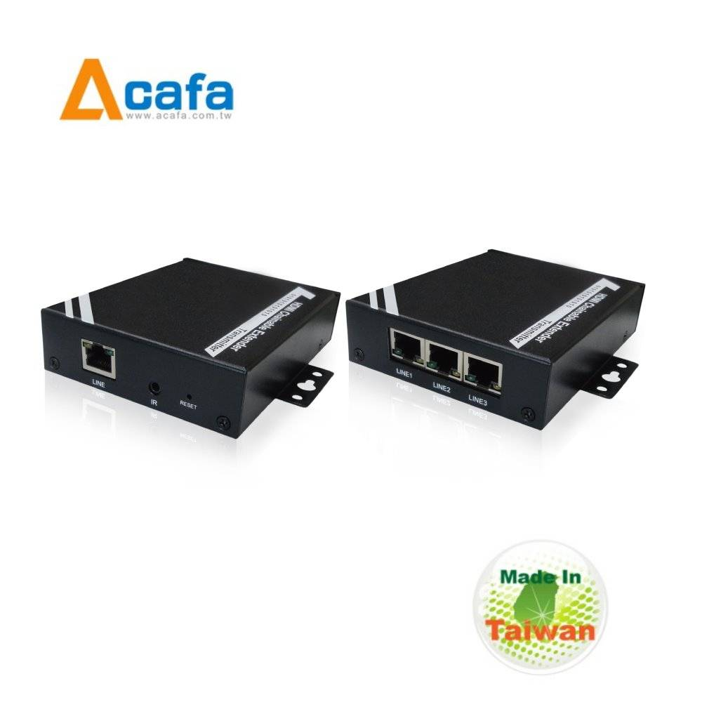 HDMI over IP Chainable Extender with splitter+converter+RS232-MIT
