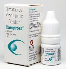 Bimatoprost drops