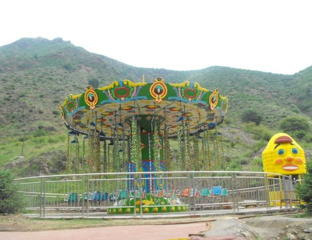 Theme Park Interesting Swing Carousel