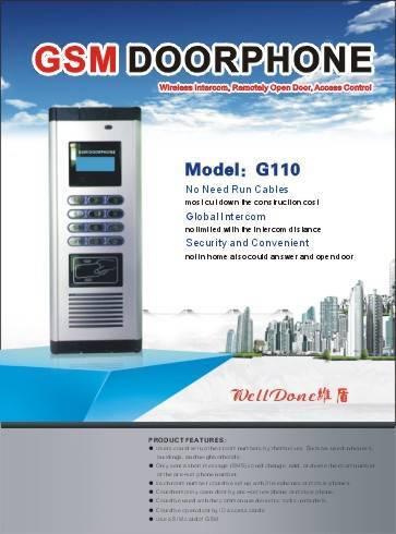 NEW: GSM Door Phone