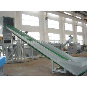 PE / PP Film Granulating, Washing and Drying Production Line