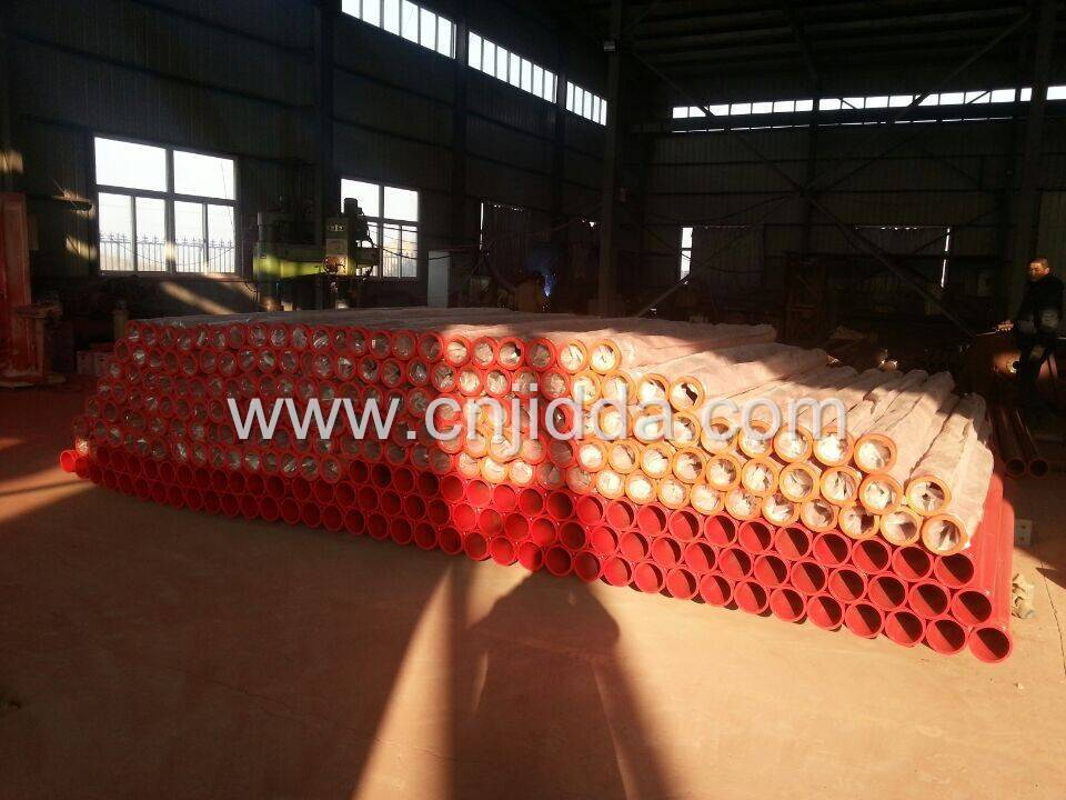 Schwing concrete pump pipe parts with F/M flange