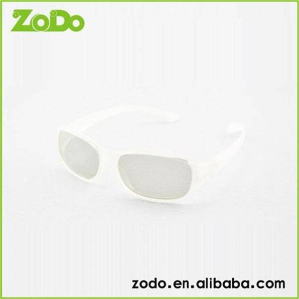 Promotional polarized 3d glasses