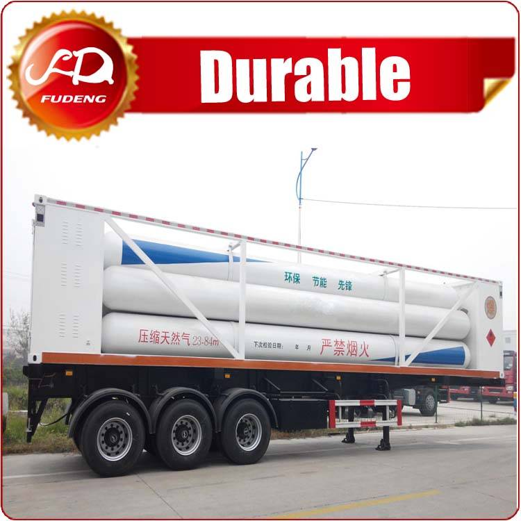 China CNG tank trailer for sale,CNG tanker trailer,Compressed gas trailer