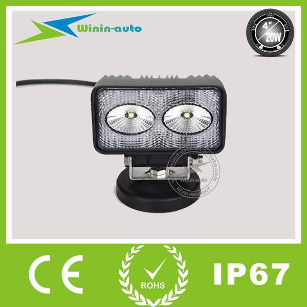 4 20W LED Auto Headlight for Forklift communication vehicle 1700 Lumen WI4201