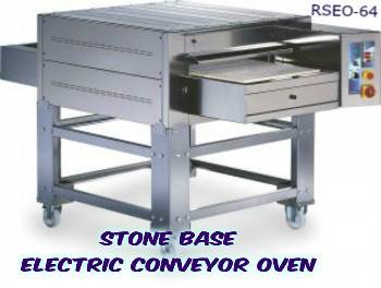 STONE BASE pizza conveyor oven - electric version