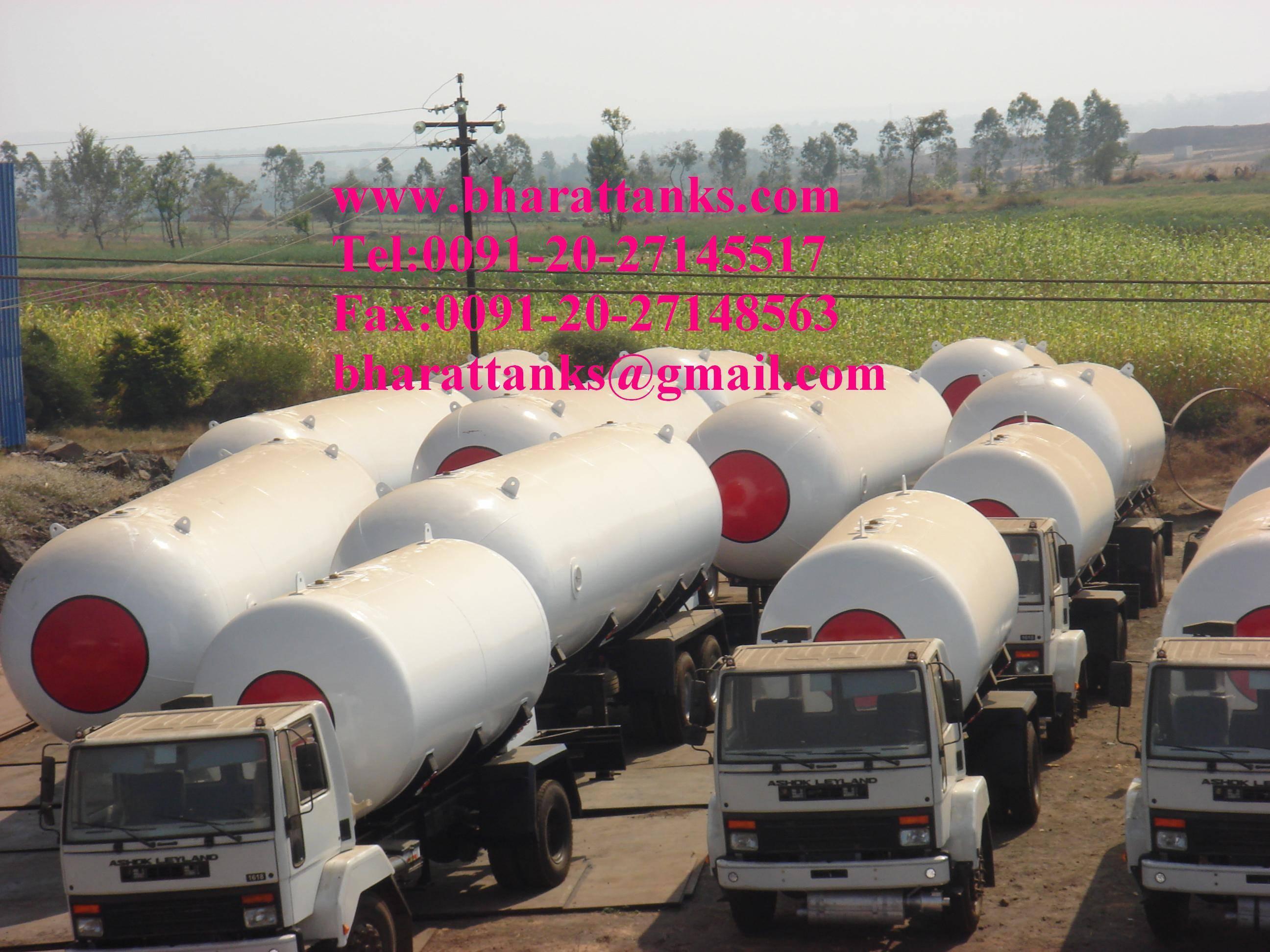 Butane gas storage Tank