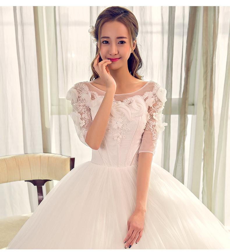 wedding dress 2017 latest fashion new dress for bridal