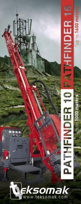 Pathfinder 16 Full Hydraulic Drill Rig Machine