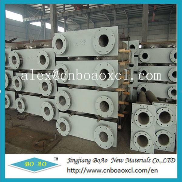 Centrifugal casting radiant tube used in steel mills