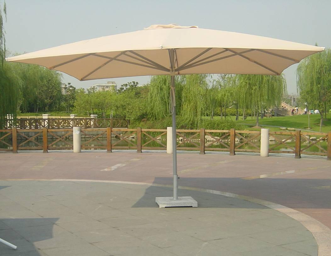 column Aluminum umbrella