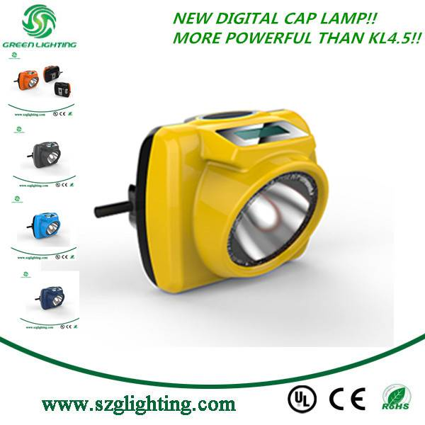 Rechargeable Cap Lamp Portable LED Mining Lamp for Underground Work