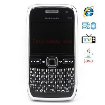 Sell F35Quad band ,Analog with PAL SECAM NTSC TV,Bluetooth 2.0,Java,Dual Camera, Bar Blackberry