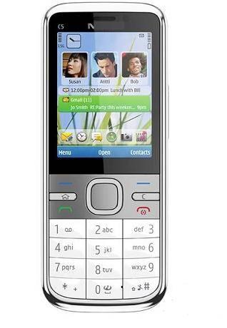 3G original cell phone C5-00 5MP camera with bluetooth, GPS, JAVA, MP3, MP4, FM radio