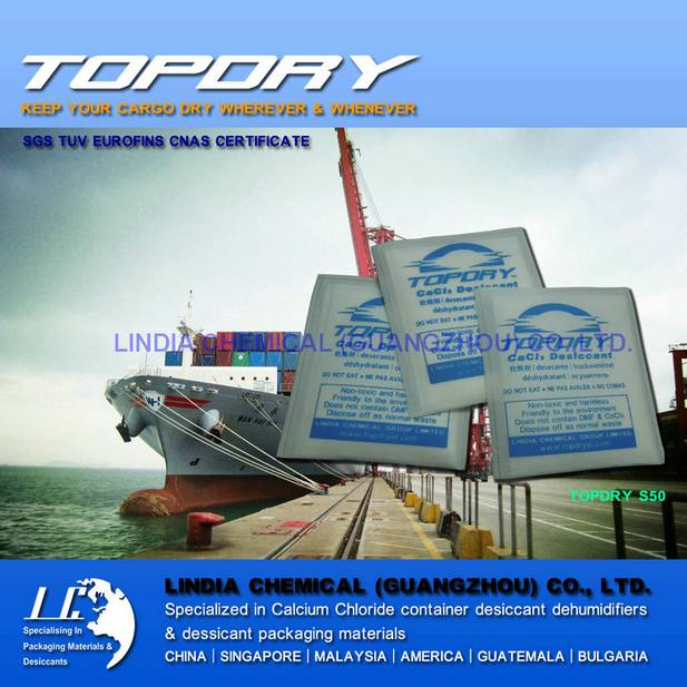 Desiccant Cargo Protection