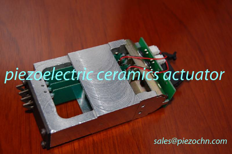 WAC compatible piezoelectric plates for hosiery and knitting machine actuator