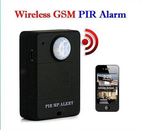 A9 wireless gsm pir alarm home security system