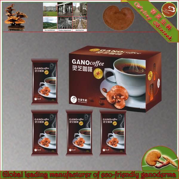 Chinese slimming ganoderma lucidum black coffee