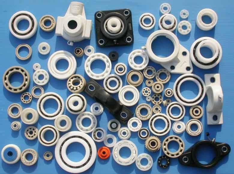 Sell Hybrid/Full Ceramic Bearings, Plastic Bearings