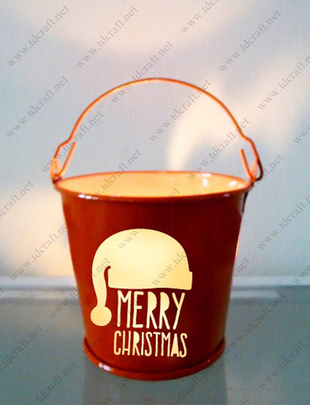 Mini candle holder-bucket
