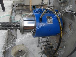 Post tensioning hydraulic pump and jack
