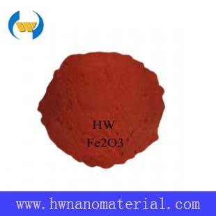 Nano Ferric Oxide Particles Used as Coloring Agent