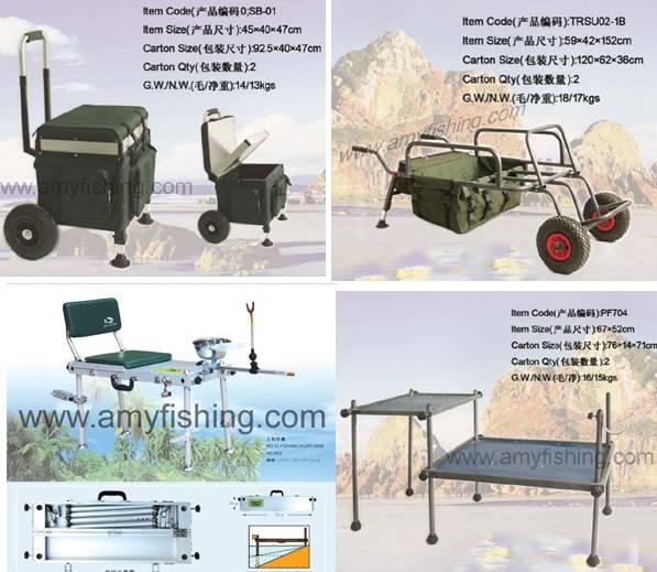 fishing trolling series, fishing sit box, fising platform