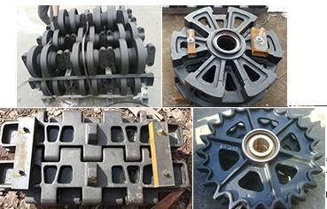 Kobelco crane part-track roller, idler