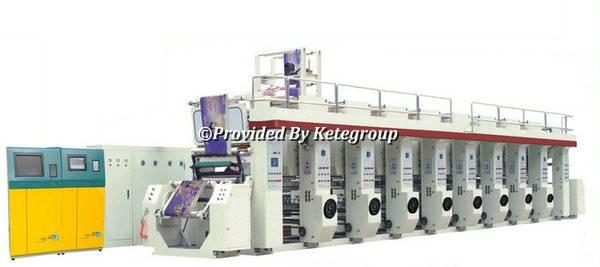 RPMS-B Series Rotogravure Printing Machine
