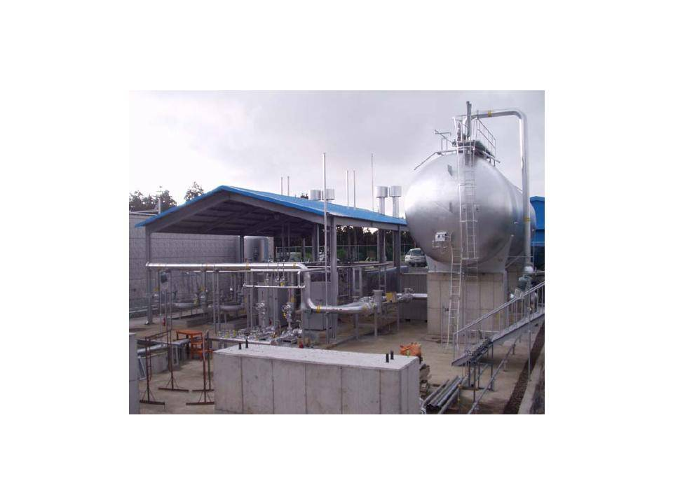 Gas Equipment - Plant Engineering & Construction - Gas Supply System