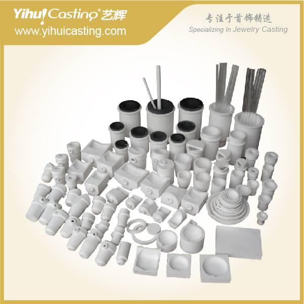 Ceramic crucible, silica crucible