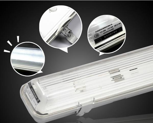 600mm 1200mm 1500mm IP65 waterproof light led batten light