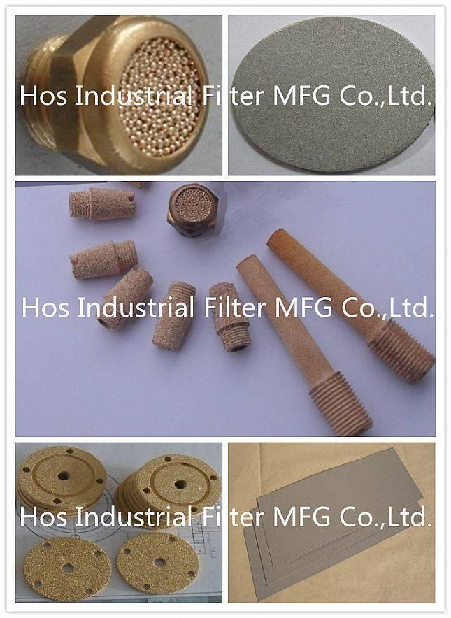 Stainless Steel/ Bronze/ Titanium/ Nickel / Monel Powder Sintered Porous Plate/ Filter/ Muffler
