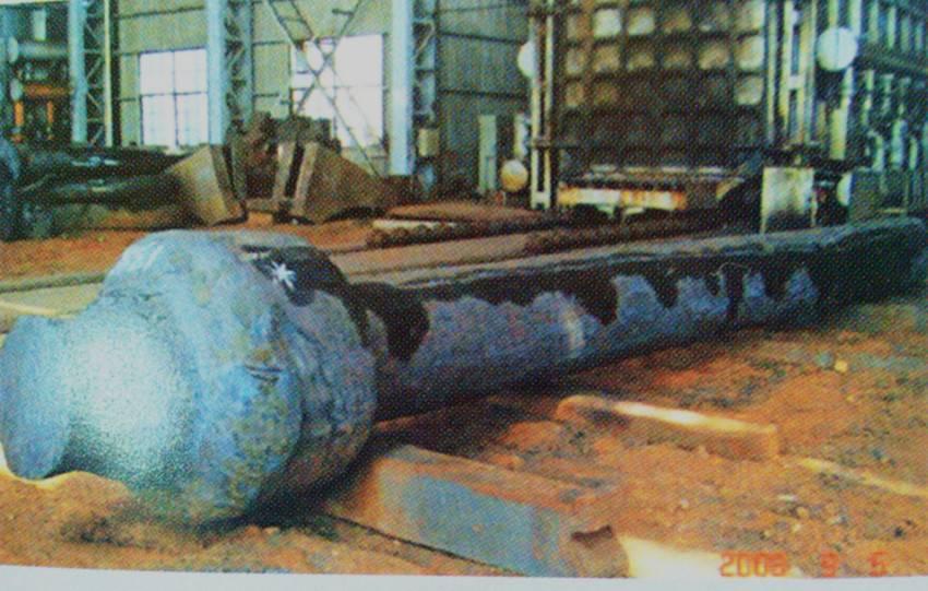 OEM alloy steel heavy marine tail shaft forgings