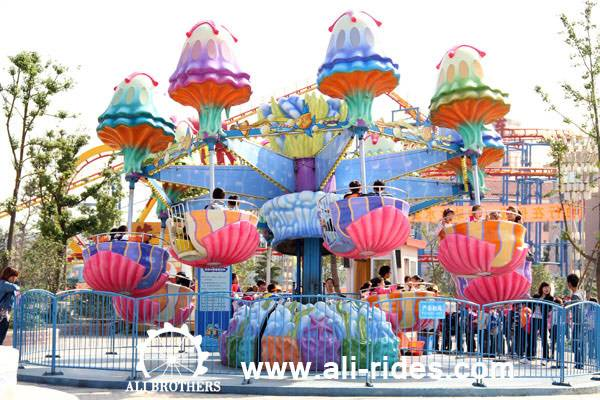Amusement park rides Jellyfish