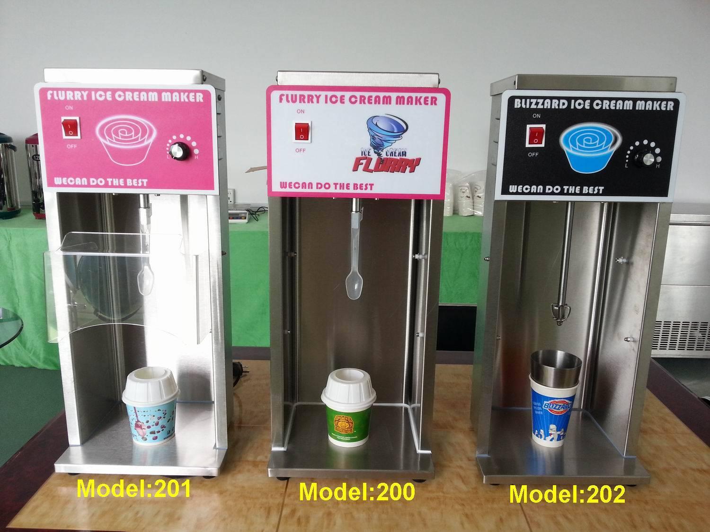 mcdonald's soft ice cream machine for sale/blizzard dq mc flurry ice cream mixer machines