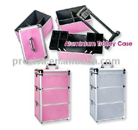 Cosmetic Trolley Case, Beauty Case, Makeup trolley case