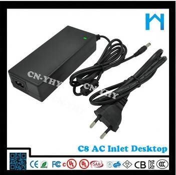 Input 100-240vac 15v 6.5a power adapter with 5.52.1mm connector