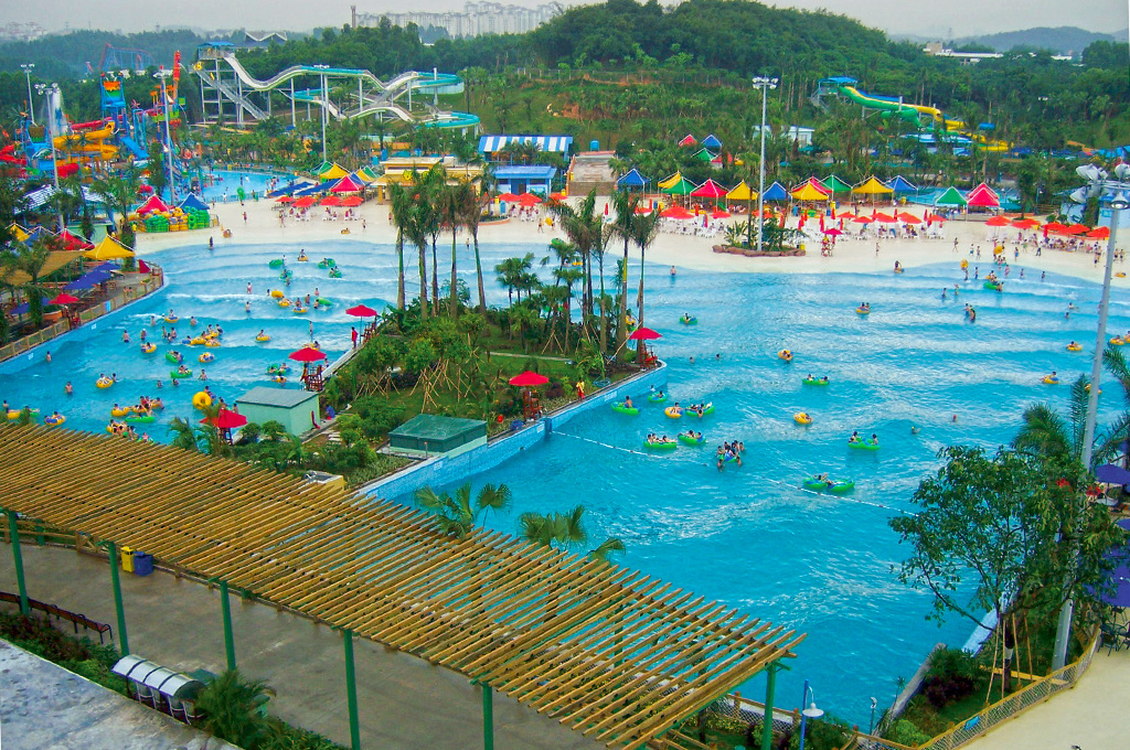 surf making machine for swimming pool, tsunami pool wave system for sale