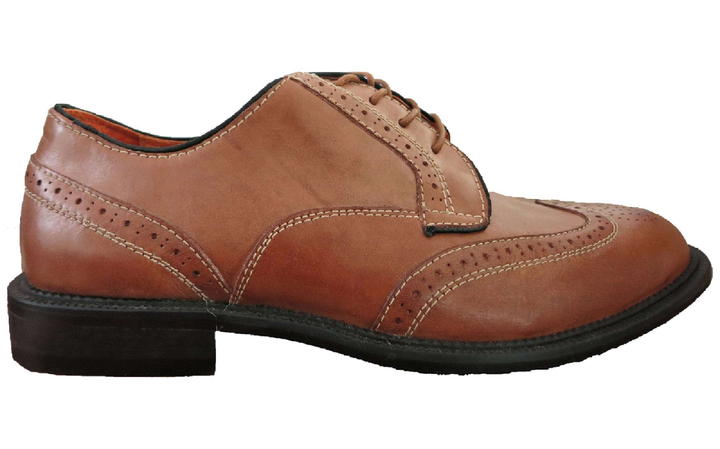 British style Brogue genuine leather shoes suitable for spring & fall