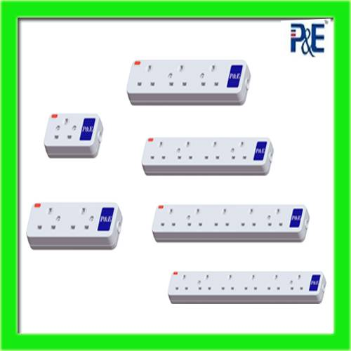 universal 3 pin extension socket power strip