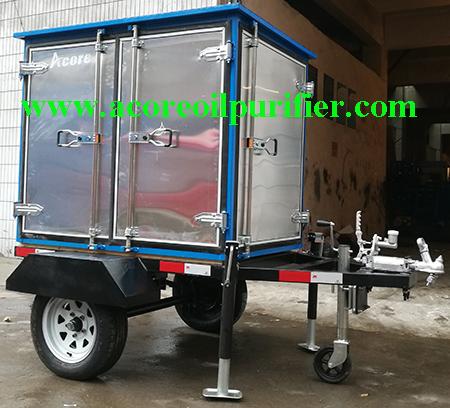 Mobile Transformer Oil Purification Plant Company