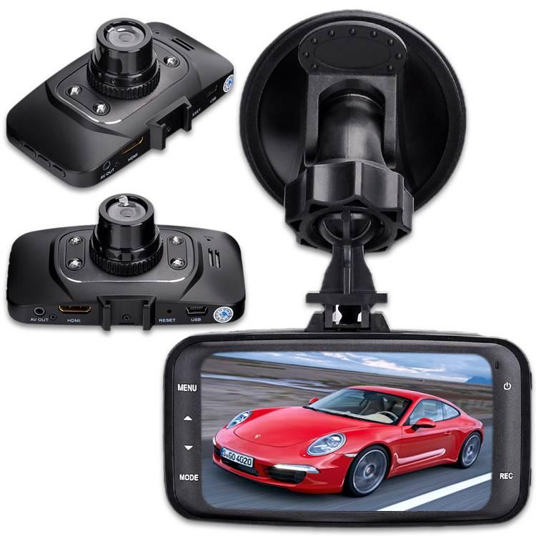 1080P HD Car DVR Vehicle Camera Recorder Dash Cam G-sensor GS8000L
