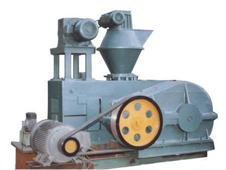 Dry powder briquette machine