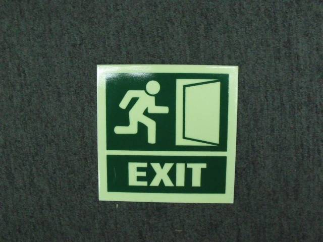 Fire / Exit / Emergency
