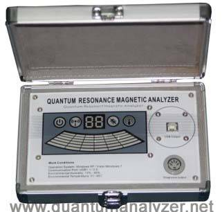 Latest version quantum resonant magnetic analyzer